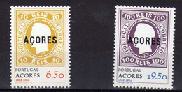 Portugal - Acore -  (1980)  -  Timbre Sur Timbre  -  Neufs** - Azores