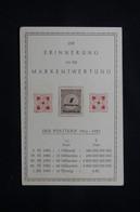 ALLEMAGNE - 1 Valeur D'Inflation Sur Carte Commémorative Pour Rappeler La Dévaluation Du Mark - L 78527 - Cartas