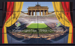 Football / Soccer / Fussball - WM 2006: Serbien U. Montenegro  Bl ** - 2006 – Deutschland