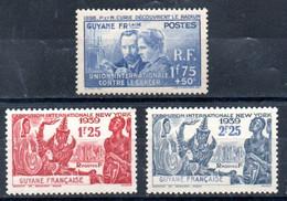 Guyane Guyana Y&T 149** - 151** - Unused Stamps