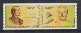 Europa Cept 1994 Greece 2v From Booklet ** Mnh (50907B) - 1994