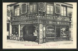 CPA Paris, Maison Principale, 9 Rue Vainvilliers - Ohne Zuordnung