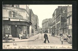 CPA Paris, Rue Planchat à La Rue De Gabnolet - Ohne Zuordnung