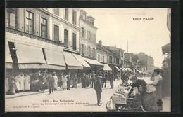 CPA Paris, Rue Nationale Prise Du Boulevard De La Gare - Ohne Zuordnung