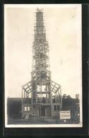 CPA Migennes-Laroche, Eglise Du Christ-Roi En Construction 1927 - Migennes