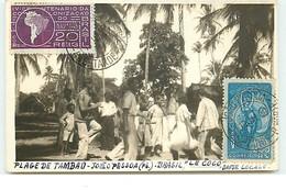 BRESIL - RPPC - Plage De Tambau - Joao Pessoa - Le Coco, Danse Locale - Autres