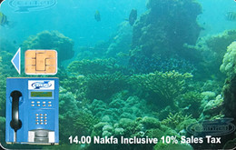ERYTHREE  -  Phonecard  -  Eri Tel - 14,00 Nafka - Eritrea