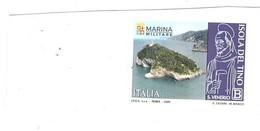 2020 TARIFFA B MARINA MILITARE ISOLA DEL TINO - 2011-...: Mint/hinged