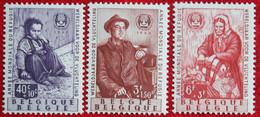 Wereldjaar Voor De Vluchteling OBC N° 1128-1130 (Mi 1185-1187) 1960 POSTFRIS MNH ** BELGIE BELGIEN / BELGIUM - Nuevos