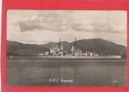 NAVY NAVAL  HMS VANGUARD  RP  WW2 BATTLESHIP - Guerra