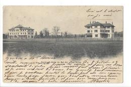 26372 - Genève Asile De Bel-Air Les Villas + Cachet Chêne Bourg 1903 - GE Ginevra