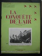 LA CONQUETE DE L'AIR 1951 N°11-F.94 PANTHER-CATAPULTAGE AVIONS A REACTEUR - Pub AVIONS FAIREY - Aerei