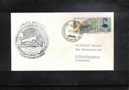 Argentina 1976 Antarctica Base Brown Interesting Letter - Forschungsstationen