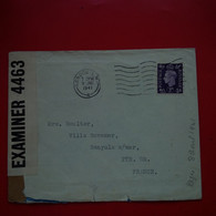 LETTRE LONDON POUR BANYULS SUR MER EXAMINER 4463 - Briefe U. Dokumente