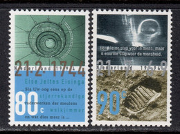 Netherlands 1994 Mi# 1514-1515 ** MNH - First Manned Moon Landing, 25th Anniv. / Space - Europe