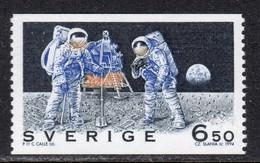 Sweden 1994 Mi# 1835 ** MNH - First Manned Moon Landing, 25th Anniv. / Space - Europe