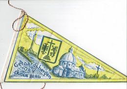 GERAARDSBERGEN - Oude Wimpel / Fietsvlag - O.L.V. OUDEN BERG - 17,5 X 30 Cm. - (in Perfekte Staat) - Geraardsbergen