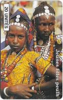 Mali - SoTelMa - Jeunes Filles Peulh, 20U, SC7, 100.000ex, Used - Mali
