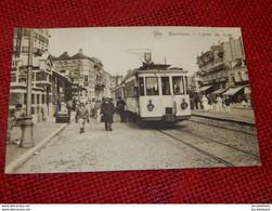 WENDUINE  -  L'Arrêt Du Tram - Wenduine