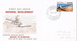 38426. Carta ADELAIDA (Australia) 1970. National Developement - Lettres & Documents
