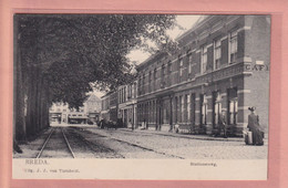 OUDE POSTKAART - NEDERLAND - BREDA - STATIONSWEG TULPKAART - 1910 - LOGEMENT - Breda