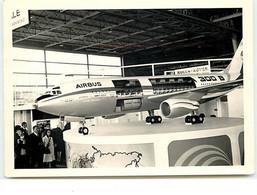 Photo D'un Modèle Réduit D'Airbus 300 B (format 12,5 X 9 Cm) - Sonstige