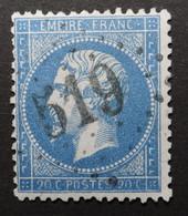 22a Obl GC 519 Bologne-sur-marne (50 Marne) Ind 6 ; Frappe Très Nette Et TB Centrée - 1849-1876: Periodo Classico