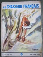 LE CHASSEUR FRANCAIS  N° 721 Août 1957 - CANAQUE TUANT UN REQUIN - Couv  Paul ORDNER - - Hunting & Fishing