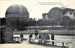 Belgique - Bruxelles - 75e Anniversaire De L' Indépendance - Grande Fête Aérostatique Du 3 Août 1905 - Feste, Eventi