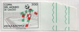 "Italia - 1988 - Mondiali Italia'90 ""mascotte"" Verdino MNH** (rif. 1852a Cat.Unificato) - Variedades Y Curiosidades"