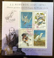 France BF N°18 - Hommage à JJ Audubon - Cachet Du 20/07/1995 - Used