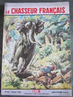 LE CHASSEUR FRANCAIS  N° 792 Février 1963 -CHARGE DE L'ELEPHANT - Couv  Paul ORDNER - - Hunting & Fishing