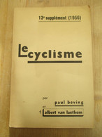 Le Cyclisme 13 Ième Supplément 1956 - Sport