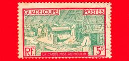 Nuovo - GUADALUPE - 1928 - Canna Da Zucchero Nel Mulino - 5 - Ongebruikt