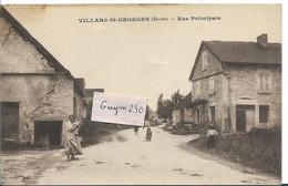 VILLARS St GEORGES  Rue Principale - Andere Gemeenten