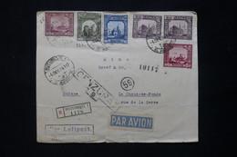 ROUMANIE - Enveloppe De Bucarest En Recommandé Pour La Suisse En 1941 Par Avion Avec Cachet De Censure- L 78561 - 1. Weltkrieg (Briefe)