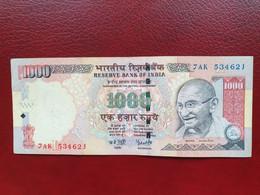 Billet De 1000 Roupies D'Inde De 2006 - Indien