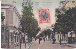 CPA Old Pc Bulgarie Varna Rue Czar Boris - Bulgaria
