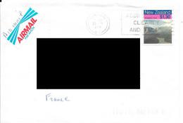 Lettre De Nouvelle Zélande. (Voir Commentaires) - Covers & Documents