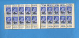 CARNET Complet 20 Timbres Propreté Tuberculose Anti Tuberculeux 1919 1939 Suchard Tetra Suchard Suchard - Antitubercolosi
