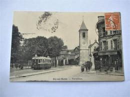 BRY Sur MARNE - Terminus Des Tramways - En 1925 - Bry Sur Marne
