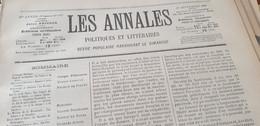 ANNALES 99 / AFFAIRE DREYFUS /PROCES HAUTE COUR BERENGER BERNARD /DOCTEUR YERSIN ET LA PESTE - Zeitschriften - Vor 1900