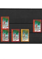 1119 France YT3243 Pour Variété : 1 Paire Verticale - 1 Neuf ** - 2 Oblitérés Différentes Couleurs Rouge Et Orange - Curiosities: 1990-99 Used