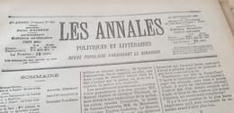 ANNALES 99 / HAUTE COUR GUERIN DEROULEDE BERTILLON / RENNES DREYFUS LABORI - Zeitschriften - Vor 1900