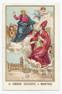 Santino+ S.Emidio Vescovo E Martire - Devotion Images