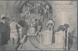 Au Pays Du Champagne , La Vigne Et Le Vin , Percement Des Caves à Epernay , Animée - Epernay