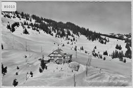 Ibergeregg - Hotel Passhöhe Im Winter En Hiver Flugaufnahme P. Zaugg - SZ Schwyz