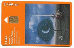 CUBA, Used Chip Phonecard, In Perfect Condition, Ernesto M. Rancaño, # Cuba-140 - Malerei