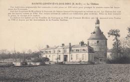 91 - Sainte-Geneviève-des-Bois - Un Beau Panorama Du Château - Sainte Genevieve Des Bois