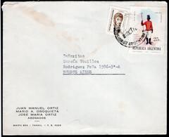 Argentina - 1972 - Lettre - Circulé - Envoyé En Buenos Aires - Abogados - A1RR2 - Cartas